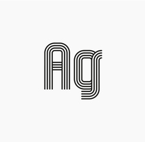 AG Typeface. A T, pograph, and Lettering project by Asier González - 07-06-2017