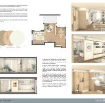 Reforma_Sant Gervasi.. Un proyecto de Arquitectura, Arquitectura interior y Diseño de interiores de Marta Silva Vicente         - 10.06.2017