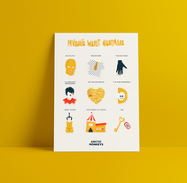 Arctic Monkeys Music Pill. Um projeto de Ilustração de Eva Mez         - 11.06.2017