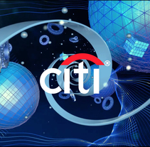Citi Bank Digitalplacemat Animation. A Motion Graphics, 3D, and Animation project by Alejandro Magnieto Benlliure - 14-06-2017