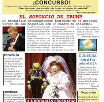Portada periódico. Um projeto de Design editorial de Ana García         - 16.03.2017
