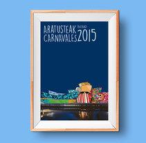 Carnavales de Bilbao. Un proyecto de Diseño gráfico de Borja Alday - 15-02-2016