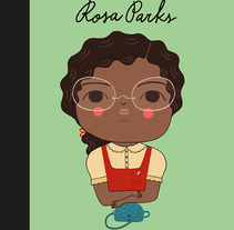 Rosa Parks. Little People Big Dreams. A Illustration project by Marta Antelo - 22-06-2017