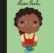 Rosa Parks. Little People Big Dreams. Um projeto de Ilustração de Marta Antelo - 22-06-2017