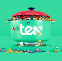 Ten idents. A 3D, Animation, Br, ing&Identit project by Binalogue  - 04-05-2017