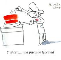 Humor para Restaurante Rivas RR. A Comic project by Miguel Gosálvez Mariño         - 23.06.2017