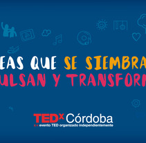 TEDx Córdoba. A Advertising, and Graphic Design project by Barbara Correa Hormigo - 25-10-2015