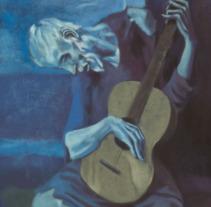 El guitarrista ciego de Picasso (paso. Un proyecto de Ilustración y Bellas Artes de Adrián Iglesias - 29-06-2017