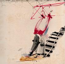Andar conmigo. A Illustration project by Adriana Bermúdez         - 30.06.2017