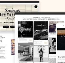 Seagrams Hotel. Un proyecto de Desarrollo Web de David thehobocode - 01-12-2016