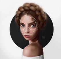 RETRATO RECONSTRUIDO (2015-2017). Um projeto de Design, Ilustração e Design de personagens de Ale Michel         - 04.07.2017