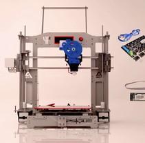 Prusa i3 Steel PSIQUE - Montaje completo impresora 3D ( vídeo ) . Un proyecto de 3D y Animación de Alberto Fornieles Padilla - 09-04-2017