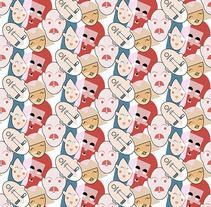Youth Boy / Man_ Prints & Patterns. Un proyecto de Ilustración, Moda y Diseño gráfico de Lorena Fernández García         - 01.01.2015