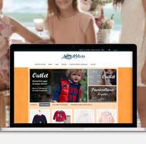 Tienda Online - LolitasKids. A Web Development project by Milagros Sánchez Fernández         - 01.01.2017