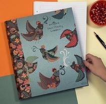 Carpetas. Um projeto de Ilustração e Diseño de patrones de Laura Varsky         - 13.07.2017