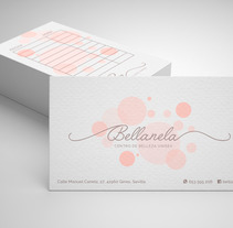 Diseño logotipo: Bellanela Estética Unisex. A Art Direction, Br, ing, Identit, and Graphic Design project by Manuel Ortiz Domínguez         - 13.07.2017