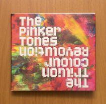 The Pinker Tones - The Trillion Colour Revolution. A Design, Editorial Design, Graphic Design, and Packaging project by Sergio Mora - 12-07-2017