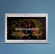Fausto Taranto (HTML). Um projeto de Web design de Sara Sánchez Vargas         - 14.07.2017