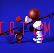 Mi Proyecto del curso: Introducción exprés al 3D: de cero a render con Cinema 4D. A 3D project by estebancarreno - 21-07-2017