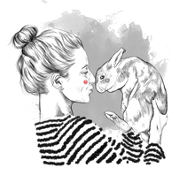 Animal lovers. A Illustration project by Cristina Fernández - 21-07-2017