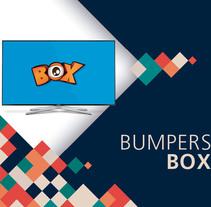 Bumper de Identidad Box Tv. Um projeto de Animação, Design gráfico, Design interativo, Vídeo e Animación de personajes de soraya sanchez carmona         - 30.07.2017