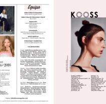 GRAN PROYECTO QUE NACIÓ HACE AÑO Y MEDIO . . . KOOSS MAGAZINE TEAM . . . COLABORA!. A Editorial Design project by Manuel Sánchez - 01-08-2017
