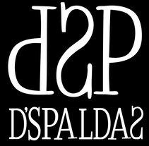 Dossier promocional del grupo Dspaldas. A Design project by Mario Serrano Contonente         - 02.08.2017