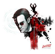 Daredevil: the first Defender. Un proyecto de Ilustración, Cine, vídeo, televisión y Comic de Dani Marco - 11-08-2017