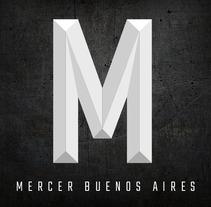 Logo MERCER BUENOS AIRES. Un proyecto de Diseño gráfico de Melanie Mercer - 09-02-2017