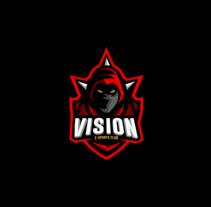 Vision e-Sports C. Um projeto de Design, Ilustração, Br, ing e Identidade e Design gráfico de Anthony Salguero         - 25.05.2017