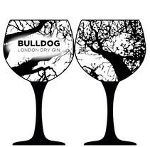 Concurso de Bulldog Gin para diseñar una copa de balón.. Um projeto de Design, Publicidade, Br, ing e Identidade e Design gráfico de Selena López Gómez         - 11.08.2017