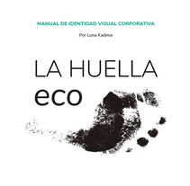 Identidad visual de granja ecológica La Huella eco. A Illustration, Advertising, Br, ing, Identit, Graphic Design, Marketing, and Packaging project by Luna Kadima         - 13.08.2017