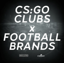 CS:GO CLUBS x FOOTBALL BRANDS. A Design, Advertising, and Costume Design project by Diego Von Trier - 14-08-2017