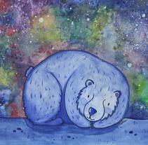Noche en el Polo Norte. Un proyecto de Ilustración de Lidia Terol - 28-08-2017