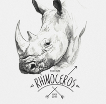 RHINOCEROS. A Illustration project by miguel sastre - 30-08-2017