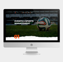 Logotipo y Web QV Sports. A Br, ing, Identit, Graphic Design, Web Design, and Web Development project by Ms. Barrons         - 01.09.2017