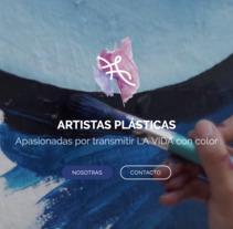 Website - laissercouler.com. Um projeto de Web design e Desenvolvimento Web de Esther Martínez Recuero         - 04.09.2017