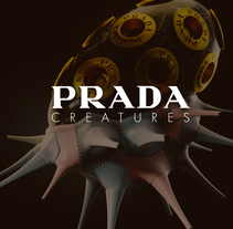 Prada Creatures. A Illustration, 3D, and Art Direction project by zigor samaniego         - 05.09.2017