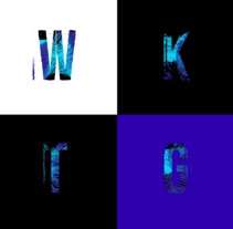 Savage Font: Diseño tipográfico experimental con Processing. Um projeto de Tipografia de Jorge  Bandera - 10-09-2017