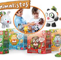 Los Animalistos de Educa. Un proyecto de Ilustración, Animación, Animación de personajes e Ilustración vectorial de Juanma García Escobar - 16-09-2017