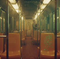 Subway Droplens Shortfilm / Robot. Un proyecto de Publicidad, Desarrollo de software, Cine, vídeo, televisión, 3D, Arquitectura, Diseño de personajes, Diseño industrial, Arquitectura de la información, Arquitectura interior, Diseño de interiores, Diseño de iluminación, Post-producción, Cine, Vídeo, Arte urbano, VFX, Producción, Lettering y Animación de personajes de Ro Bot - 22-09-2017