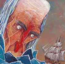 Moby Dick . Um projeto de Ilustração de AITOR ESPIÉ SÁNCHEZ         - 25.09.2017