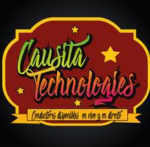Causita app, letra chicha. Un proyecto de Diseño, Marketing y Tipografía de Maricielo Pimentel Zúñiga - 28-09-2017