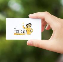 Marca LA TETERA. Un proyecto de Br, ing e Identidad y Diseño gráfico de Comboi Gràfic         - 15.02.2015
