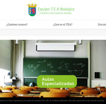 Web Equipo Específico TEA. A Web Design project by Alejandro de Mena Dávila         - 02.10.2016