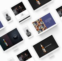 BRUTUS - Website. Un proyecto de Dirección de arte, Diseño gráfico y Diseño Web de Sergi Ferrando         - 10.10.2017
