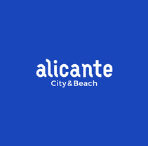 Alicante City & Beach. A Design, Art Direction, Br, ing, Identit, Graphic Design, T, and pograph project by Pablo  Alcaraz - 11-10-2017