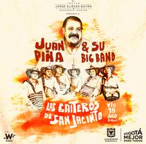 [[[ JUAN PIÑA & SI BIG BAND / LOS GAITEROS DE SAN JACINTO ]]]. A Design, Illustration, and Art Direction project by Diego Forero         - 05.08.2017