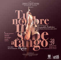 [[[ TU NOMBRE ME SABE A TANGO ]]]. A Design, Art Direction, and Digital retouching project by Diego Forero         - 01.09.2017