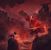 Mythic Battles Pantheon: Hephaestus Expansion . Un proyecto de Ilustración de Guillem H. Pongiluppi         - 01.01.2016